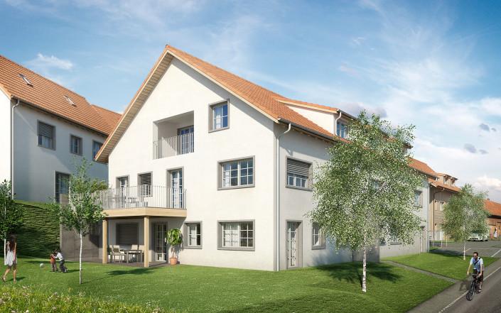 Projekt SchauenBergBlick Mehrfamilienhaus A