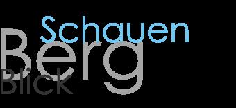 Projekt SchauenBergBlick