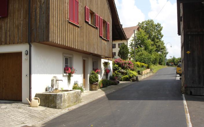 Dorfstrasse Gemeinde Schlatt