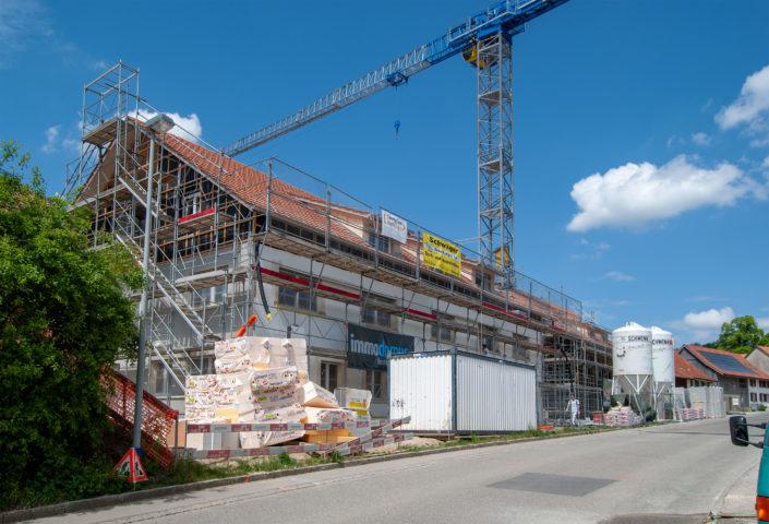 Haus A Baustelle Mai 2018