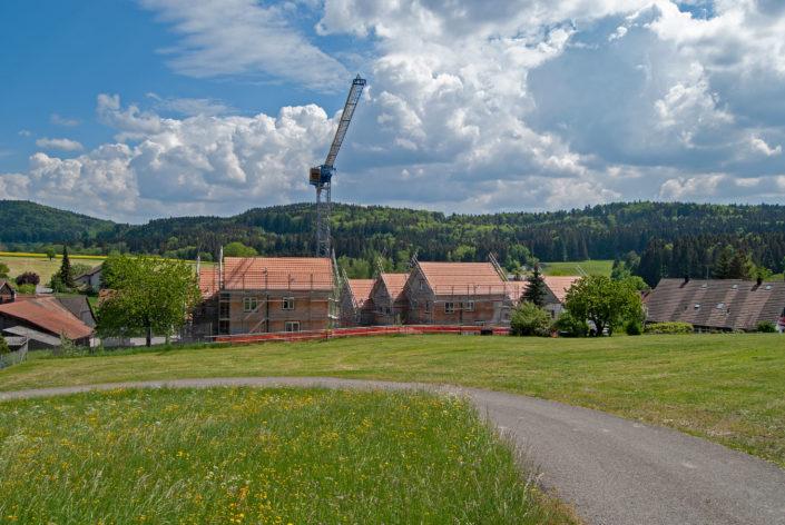 Übersicht EFH Baustelle Mai 2018
